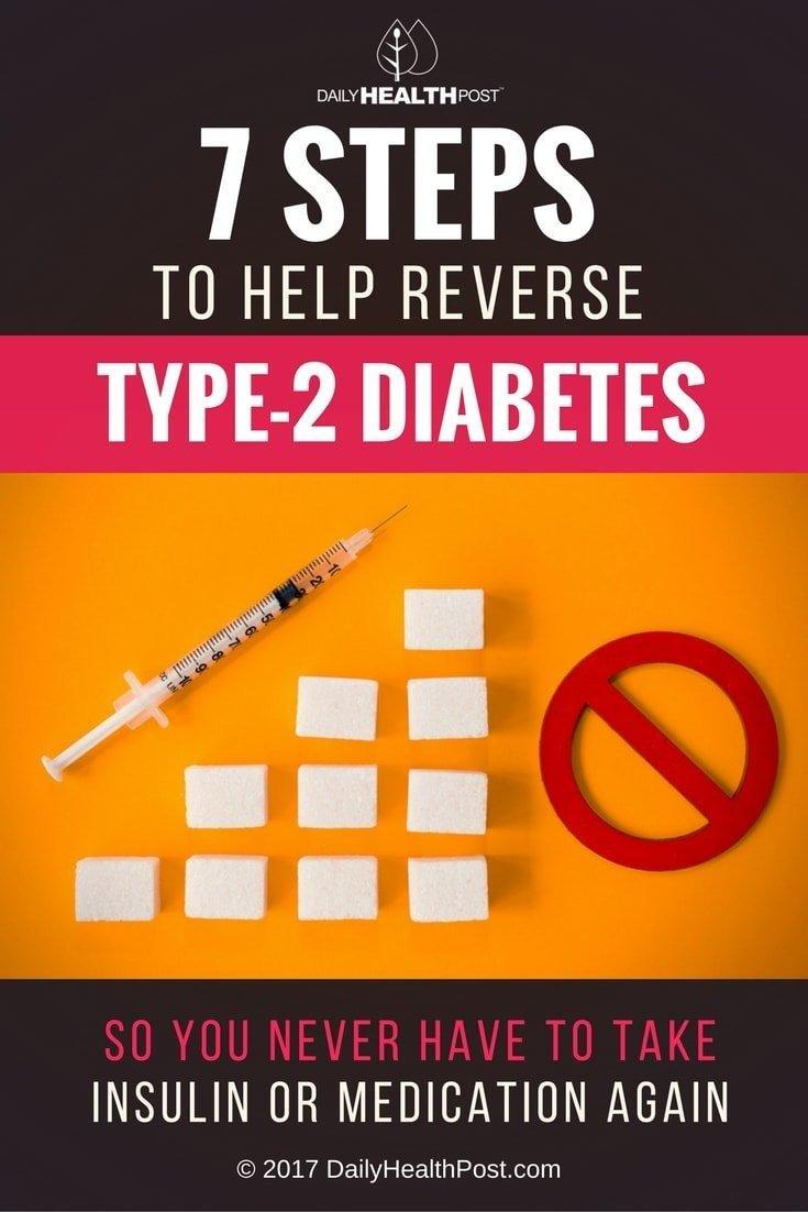 Reversing Type 2 Diabetes Naturally In 7 Steps – Never Take Insulin Or Medication Again