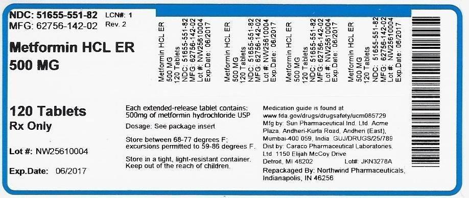Metformin Hcl Er 500mg