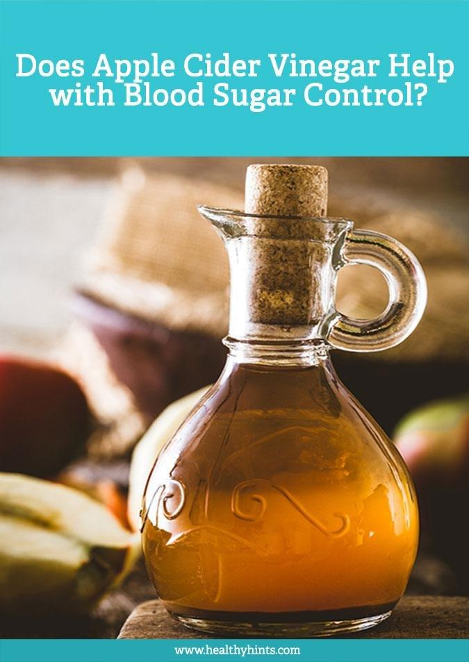 Does Apple Cider Vinegar Help With Blood Sugar Control?