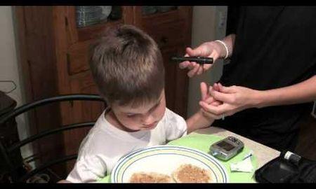 Child Has High Blood Sugar