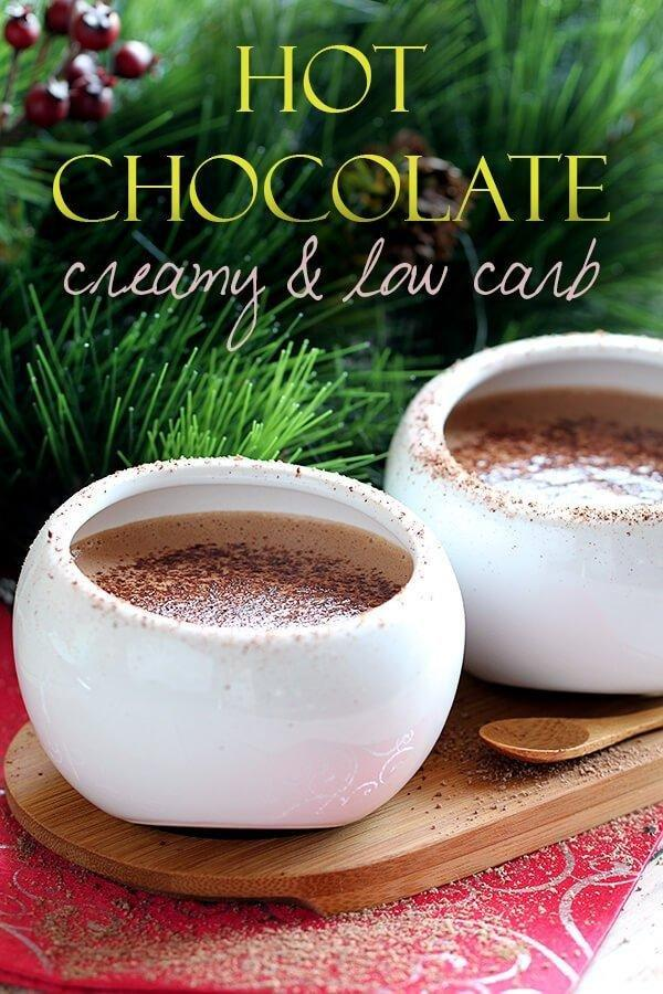 Creamy Low Carb Hot Chocolate