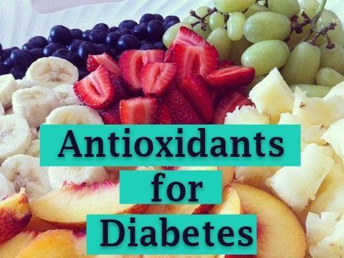 Antioxidants Diabetes