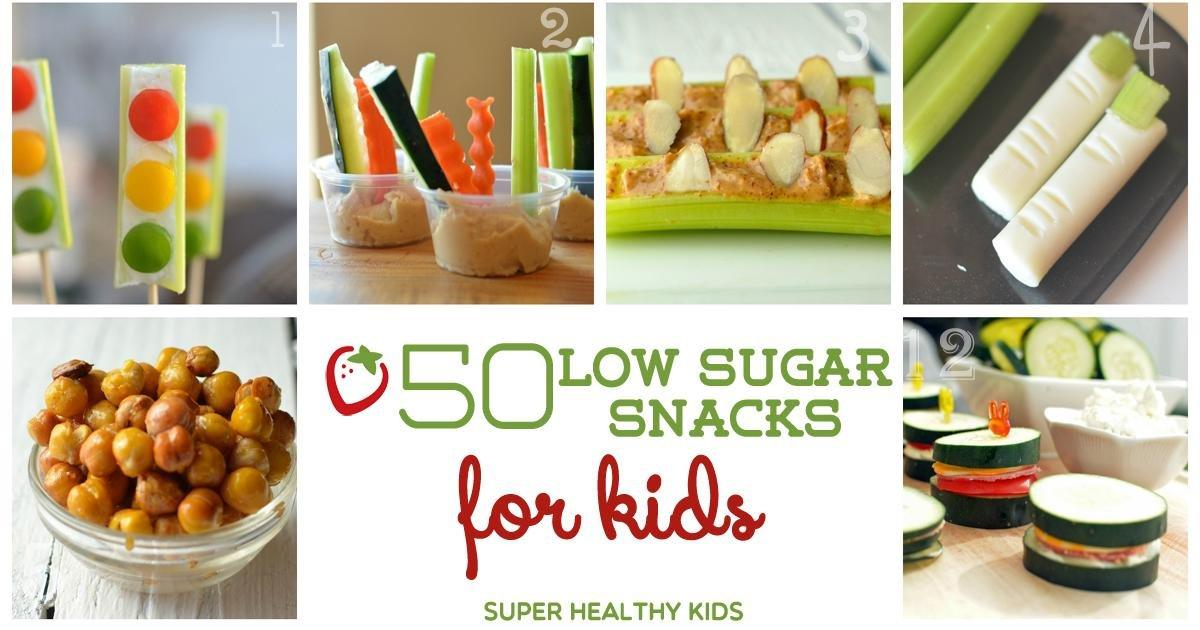 50 Low Sugar Snacks For Kids