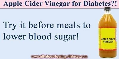 How To Beat Diabetes With Vinegar