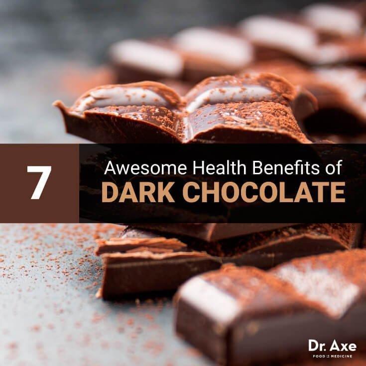 7 Awesome Health Benefits Of Dark Chocolate