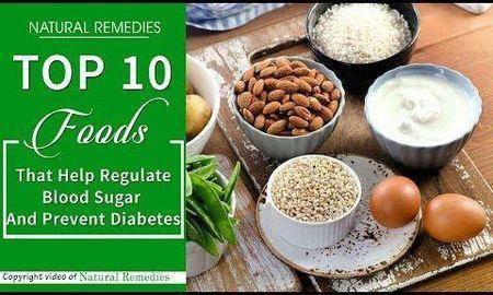 What foods help regulate blood sugar?