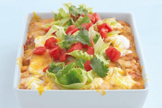 Diabetic Chicken Enchilada Casserole