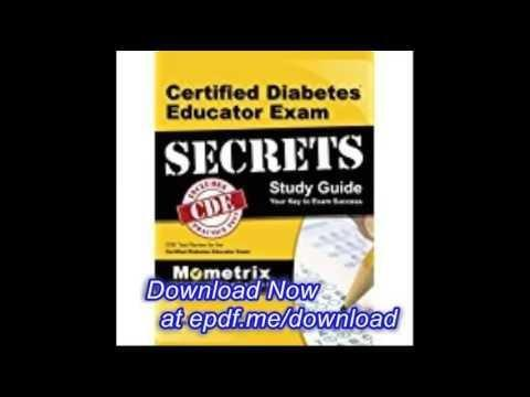 Certified Diabetes Educator Exam 3