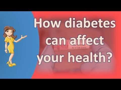 Effect Of Diabetes On Quality Of Life