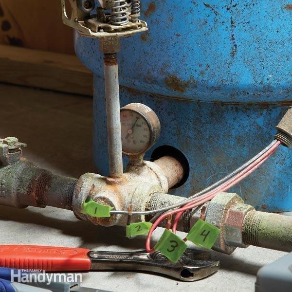 How Do You Adjust The Pressure Switch On A Well Pump?
