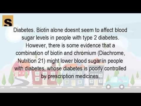 Is Biotin Safe For Diabetics?