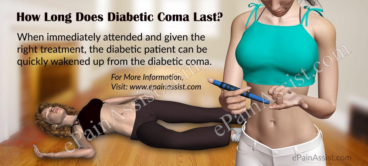 How Long Does Diabetic Coma Last And How Is It Treated?