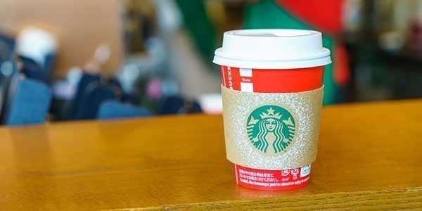 Starbucks Healthiest Holiday Drinks