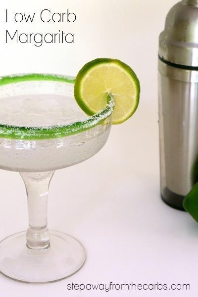 Low Carb Margarita - Step Away From The Carbs