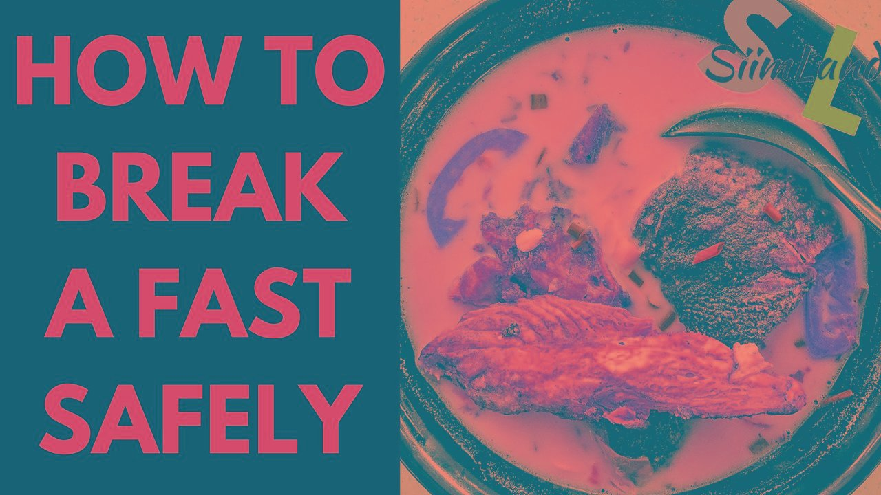 How Much To Eat When Breaking A Fast
