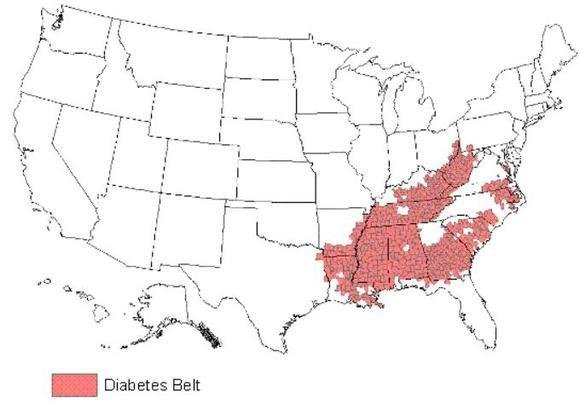 7 States Where Diabetes Prevalence Is The Highest