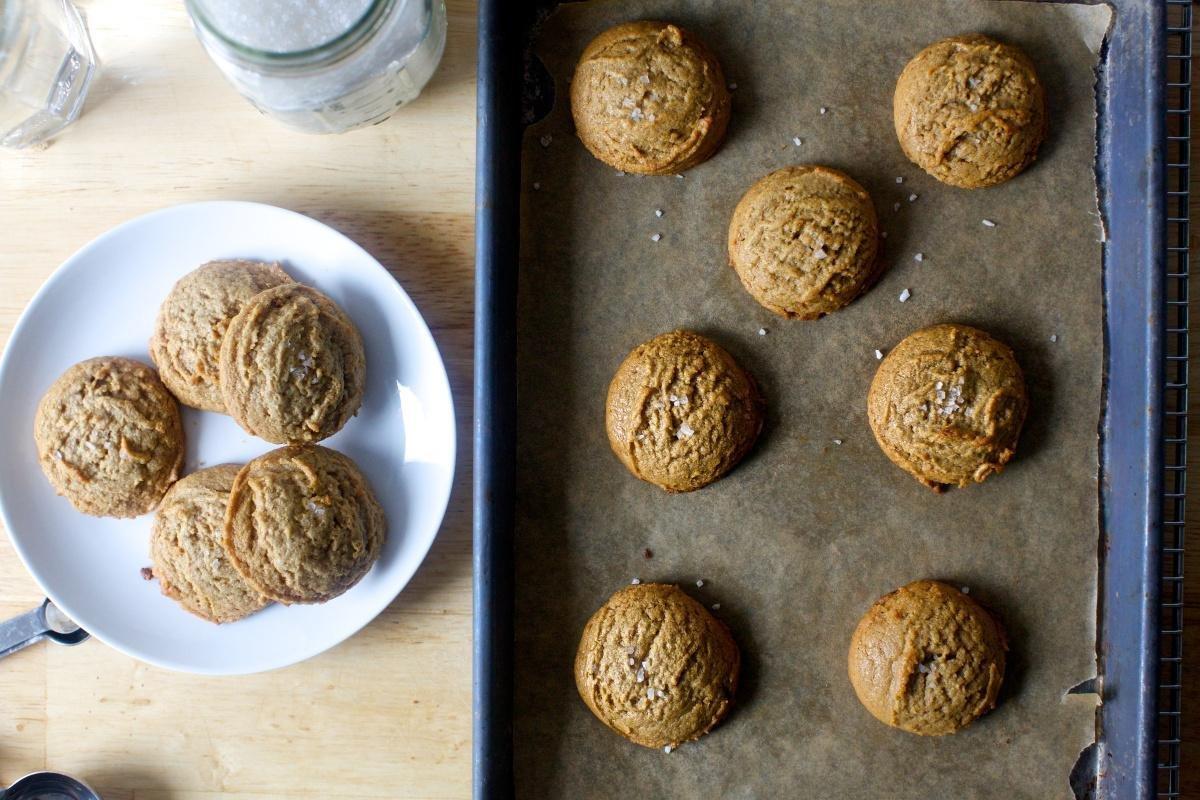 Salted Peanut Buttercookies