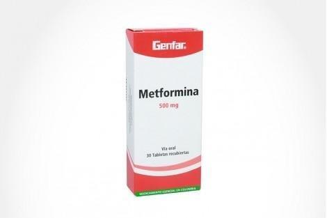 Comprar En Drogueras Cafam Metformina 500 Mg Caja 30 Tabletas.