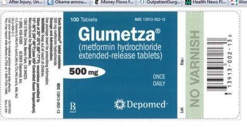 Diabetes Drug Recall Over Unusual Odor Problem