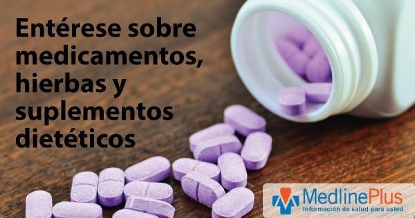 Metformina: Medlineplus Medicinas