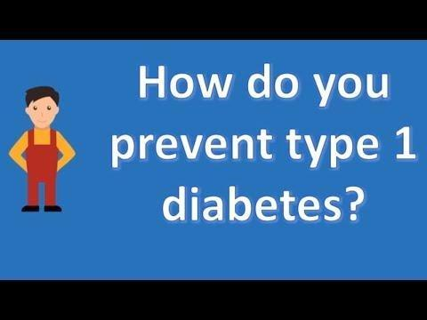 Can You Prevent Type 1 Diabetes