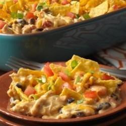 Diabetic Chicken Taco Casserole