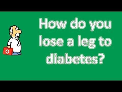 Why Do People Lose Their Limbs From Diabetes?