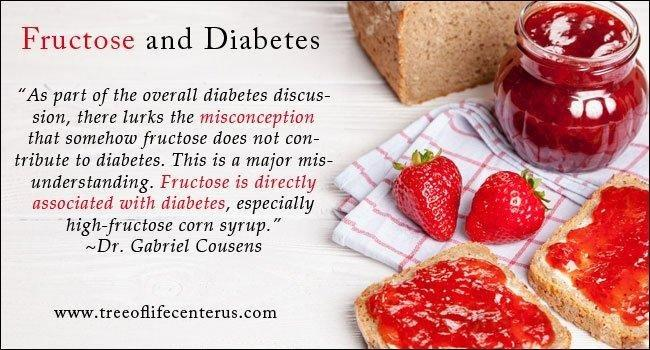Fructose Reduces Diabetes