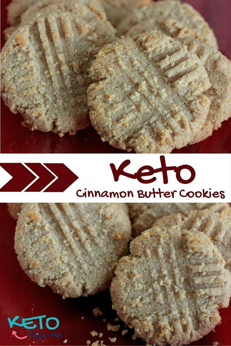 Keto Cinnamon Butter Cookies Recipe