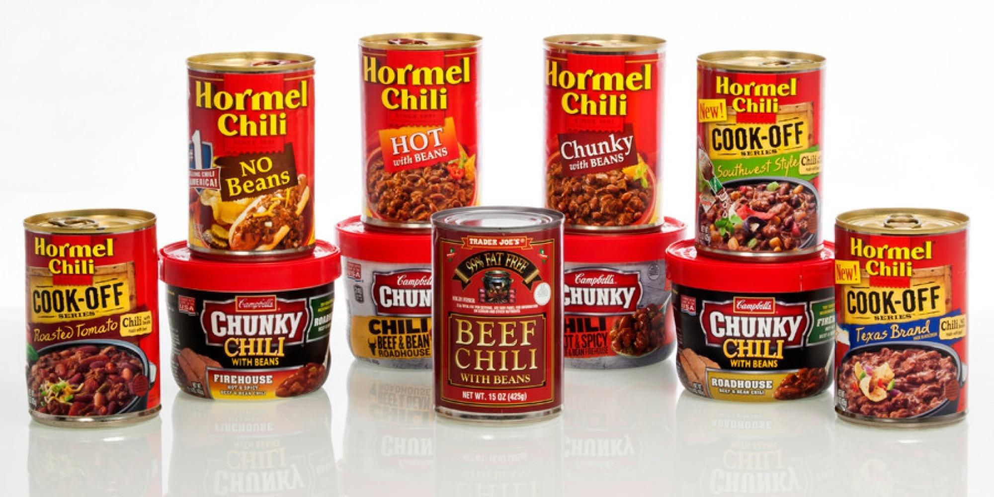 The Best Canned Chili: Our Taste Test Reveals There's Only One Worth Trying