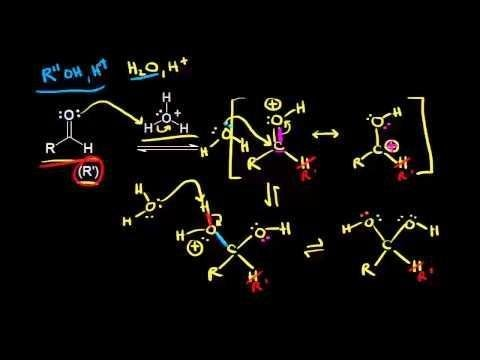 Acid And Base Catalyzed Formation Of Hydrates And Hemiacetals