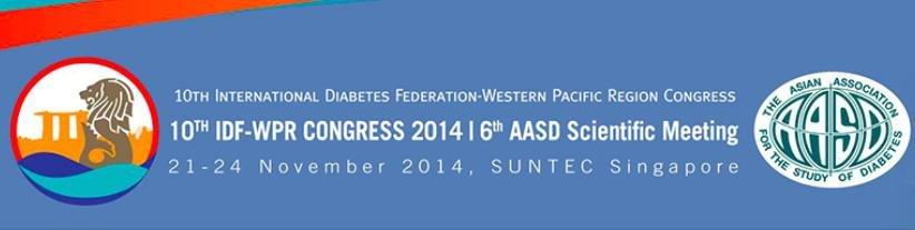 10th International Diabetes Federation- Western Pacific Region Congress (10th Idf-wpr Congress 2014)