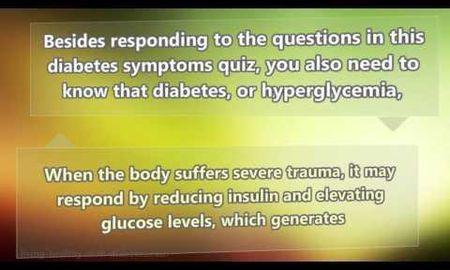 Diabetes Quiz