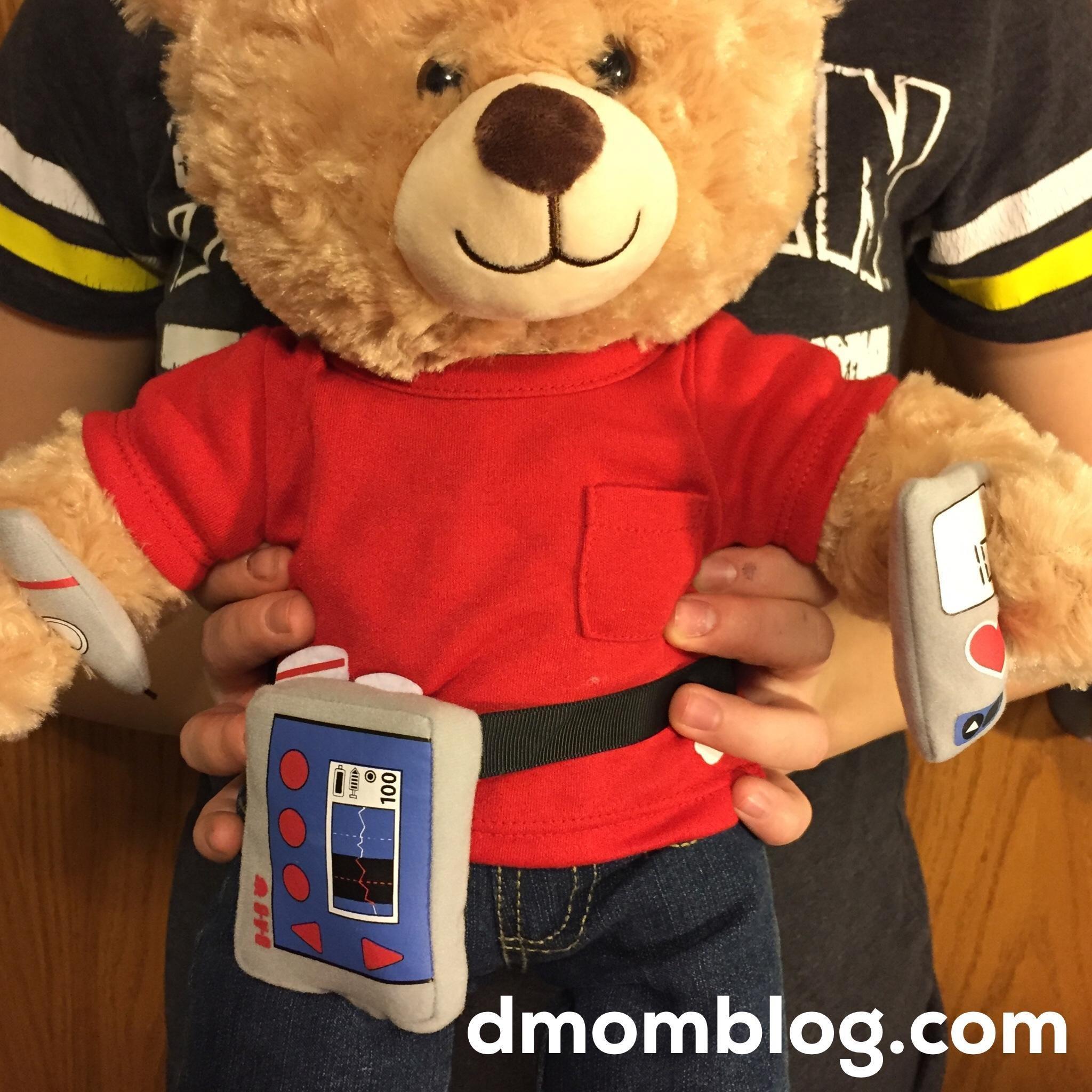 Build-a-bear Diabetes Kit (hooray!)