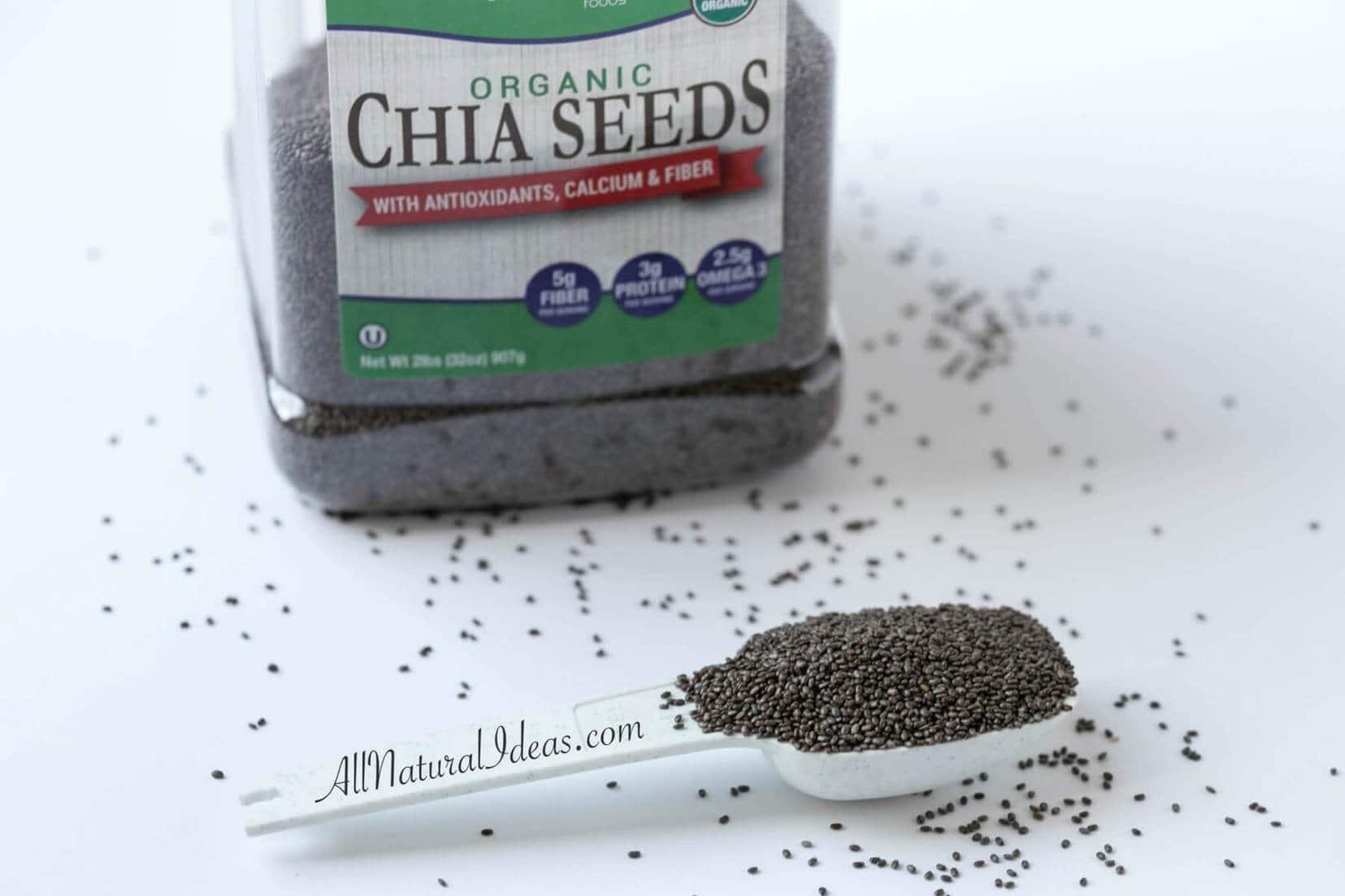 Chia Seed Health Benefits & Recipes