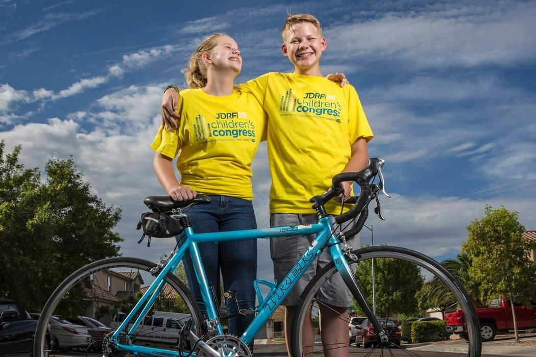 Las Vegas siblings visit DC in diabetes research funding quest