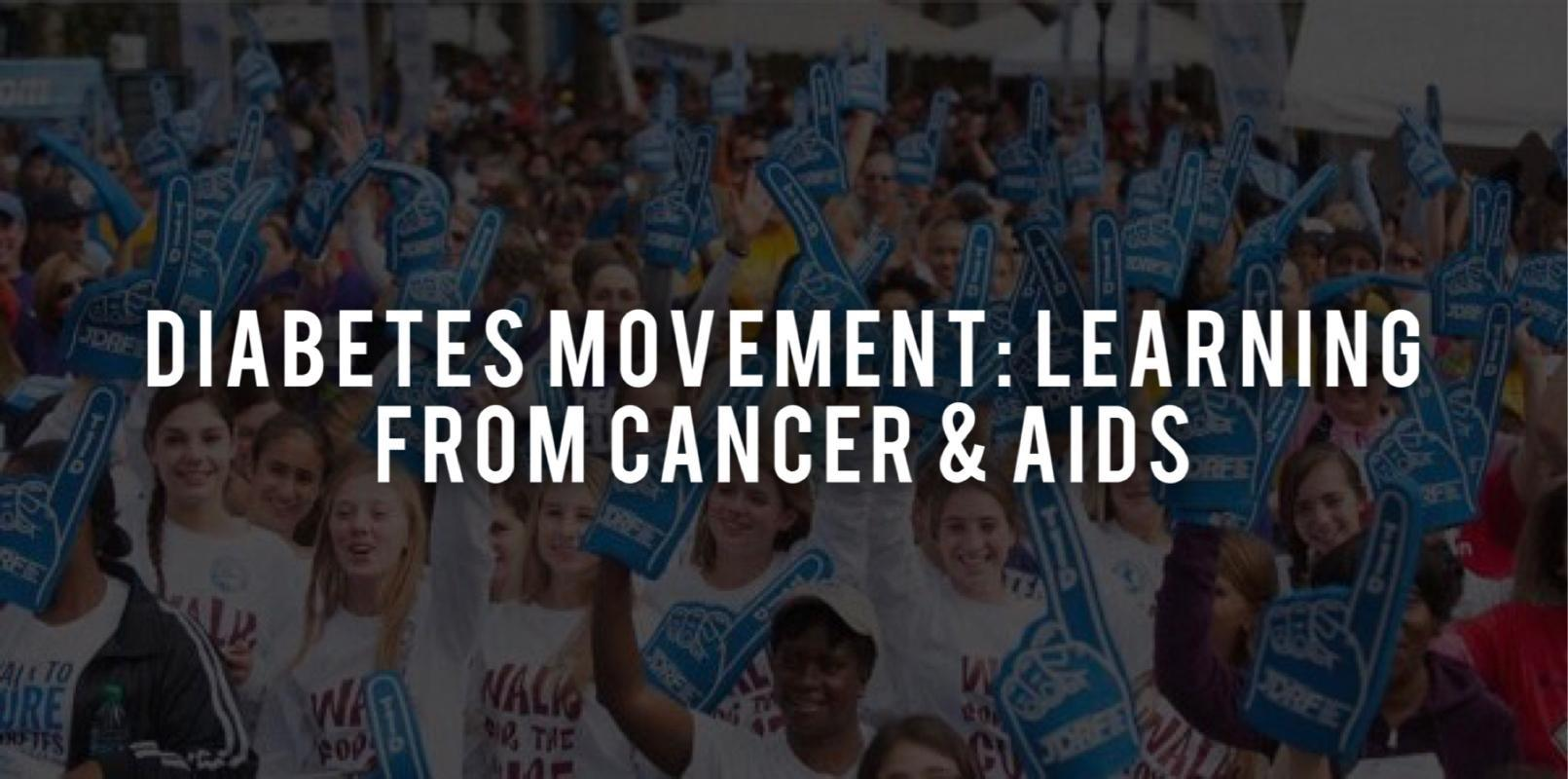 2 Things People With Type 1 Diabetes Can Learn From The Cancer & AIDS Community
