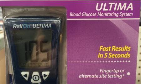 Blood Glucose Meters Walmart
