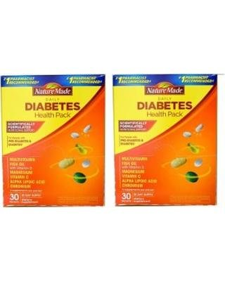 Amazing Shopping Savings: Nature Made Diabetes Daily Health Pack: 60-pack