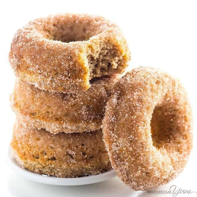 Low Carb Donuts Recipe Almond Flour Keto Donuts (paleo, Gluten Free)