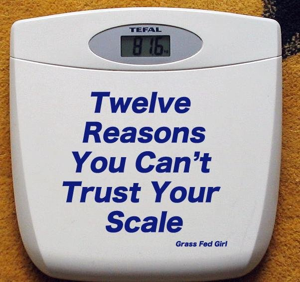 12 Reasons You Can't Trust Your Scale