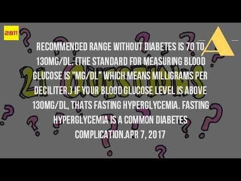 What Level Of Blood Sugar Is Dangerous?