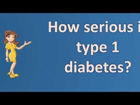 Poorly Controlled Type 1 Diabetes Life Expectancy
