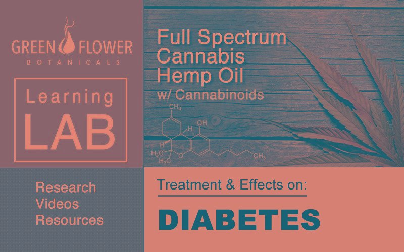 Hemp Oil With Cannabinoids: Treatment Effects On Diabetes