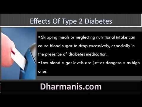 Diabetes - Long-term Effects