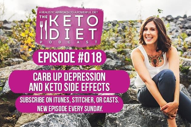 The Keto Diet Podcast Ep. #018: Keto Prime, Depression + Carb Ups, And Keto Side Effects