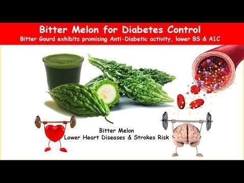 Bitter Melon Cures Diabetes