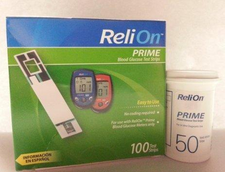 Low Inventories Of Walmart 50 Count Reli On Prime Test Strips