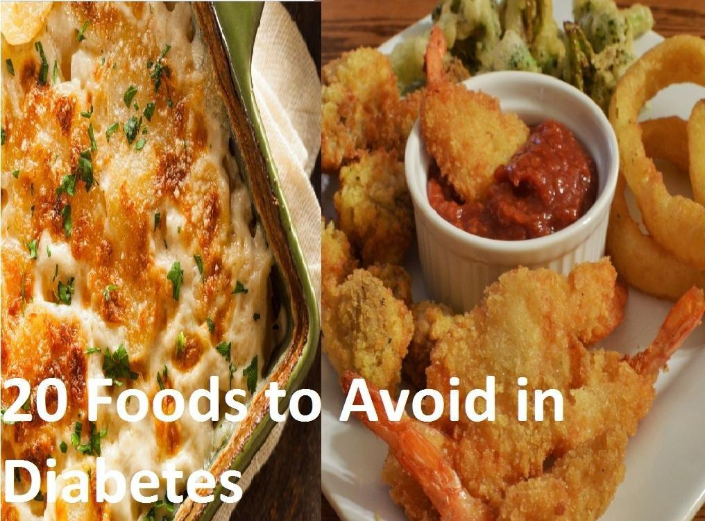 Types of Diabetes and 20 Foods to Avoid in Diabetes