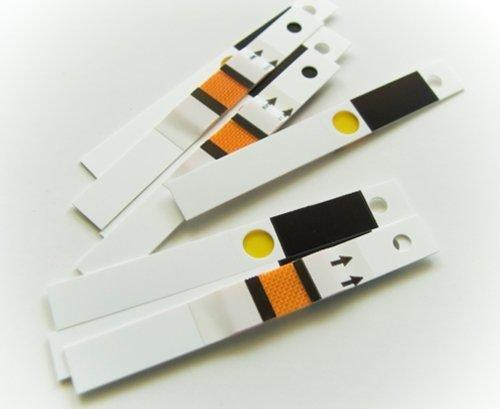 Inexpensive Blood Glucose Test Strips